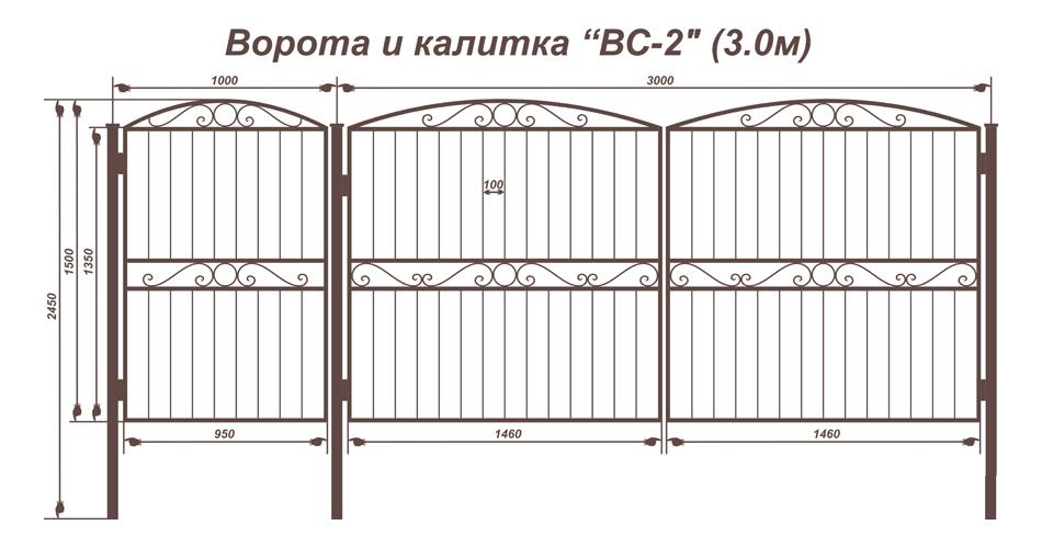 Распашные ворота для гаража своими руками чертежи фото и видео 184
